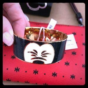 COACH X Mickey Disney bangle bracelet, NWT